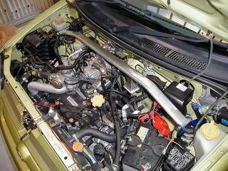 フロントストラットバー typeOS SU0040-FTO-00